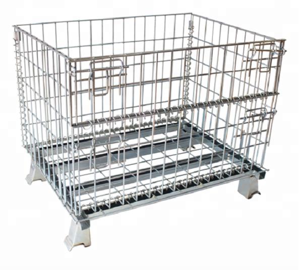 Shunhong индивидуальные колесных складные супермаркет клетка для хранения