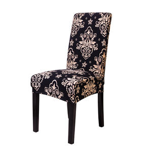 Wholesale The cheapest Jacquard Chair Cover Dining Table Chair Covers