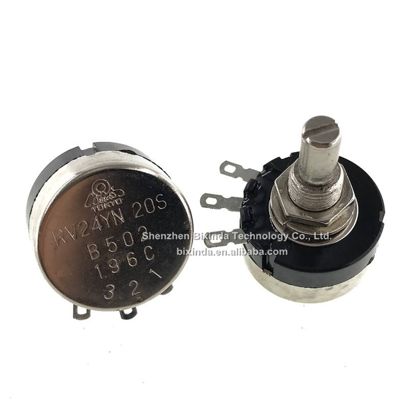 US Stock 20K Potentiometer RV24YN 20S B203 24mm with knob and Digital Scale