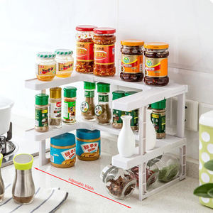 Spicy Shelf - Expandable Spice Rack and Stackable Cabinet & Pantry Organizer