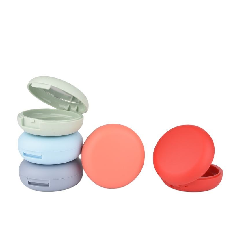 Hot Sale Eco-friendly Empty Compact Powder Air cushion BB makeup Round Compact Powder Case