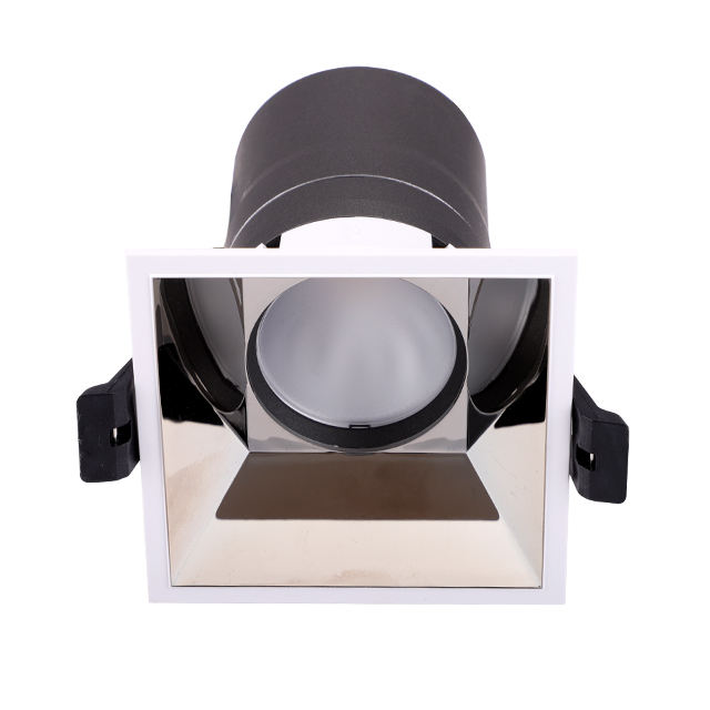Cina Produsen Kualitas Tinggi Lampu LED Down Light CE RoHS Dimmable 10W 36V Downlight COB LED