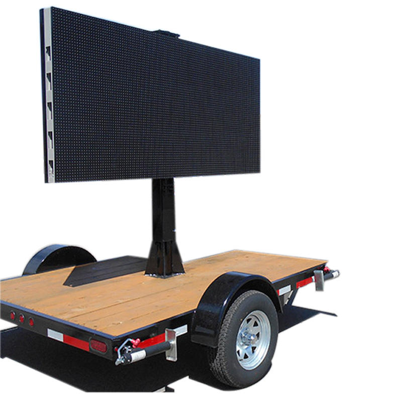 Led Moving Mobile Variable Message Sign in Truck and Trailer
