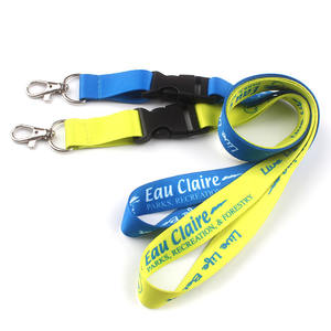 Polyester neck promotional custom lanyards ID card holder mobile phone lanyard