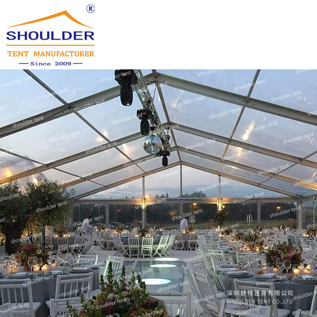 shoulder 2020 UV-resistant marquee wedding tent trade show tent factory direct sell