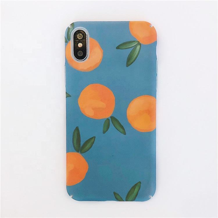 Retro Orange Zitrone Painted Cartoon Obst Harte PC Telefon Fall Für iPhone <span class=keywords><strong>11</strong></span> Pro MAX <span class=keywords><strong>11</strong></span> Pro <span class=keywords><strong>11</strong></span> XR XS max X 8 7 Plus