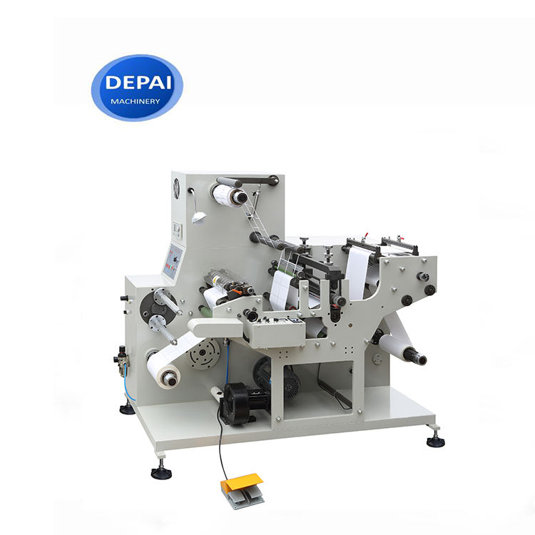 FPL450L Paper Straw 14mm Paper Slicing Rotary Die Knife Slit Machine Slitter