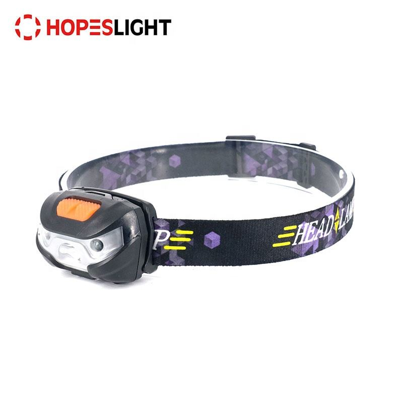Hunting Headlight Headlamp BORUiT USB Charge InductionXPE Motion Sensor 5-Mode