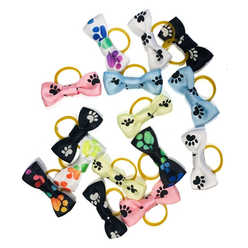 Free Samples Wholesale dog grooming bows, pet grooming Hair Bows