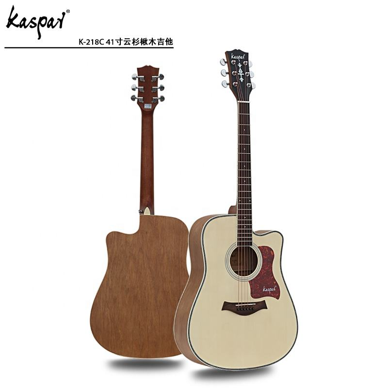 Chinese manufacturers preferential wholesale price 40 inch 41 inch steel string Western folk electric guitar