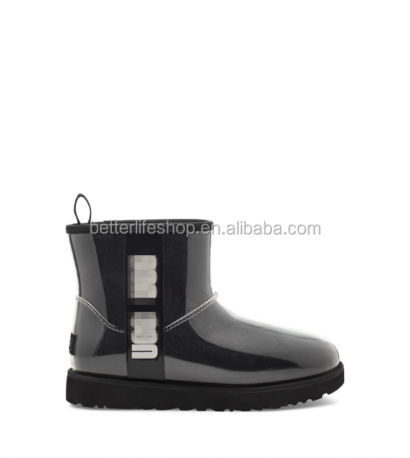 2021 pantuflas Women Classic Clear Mini Boot Winter Ugging Bootsレインブーツブーツ