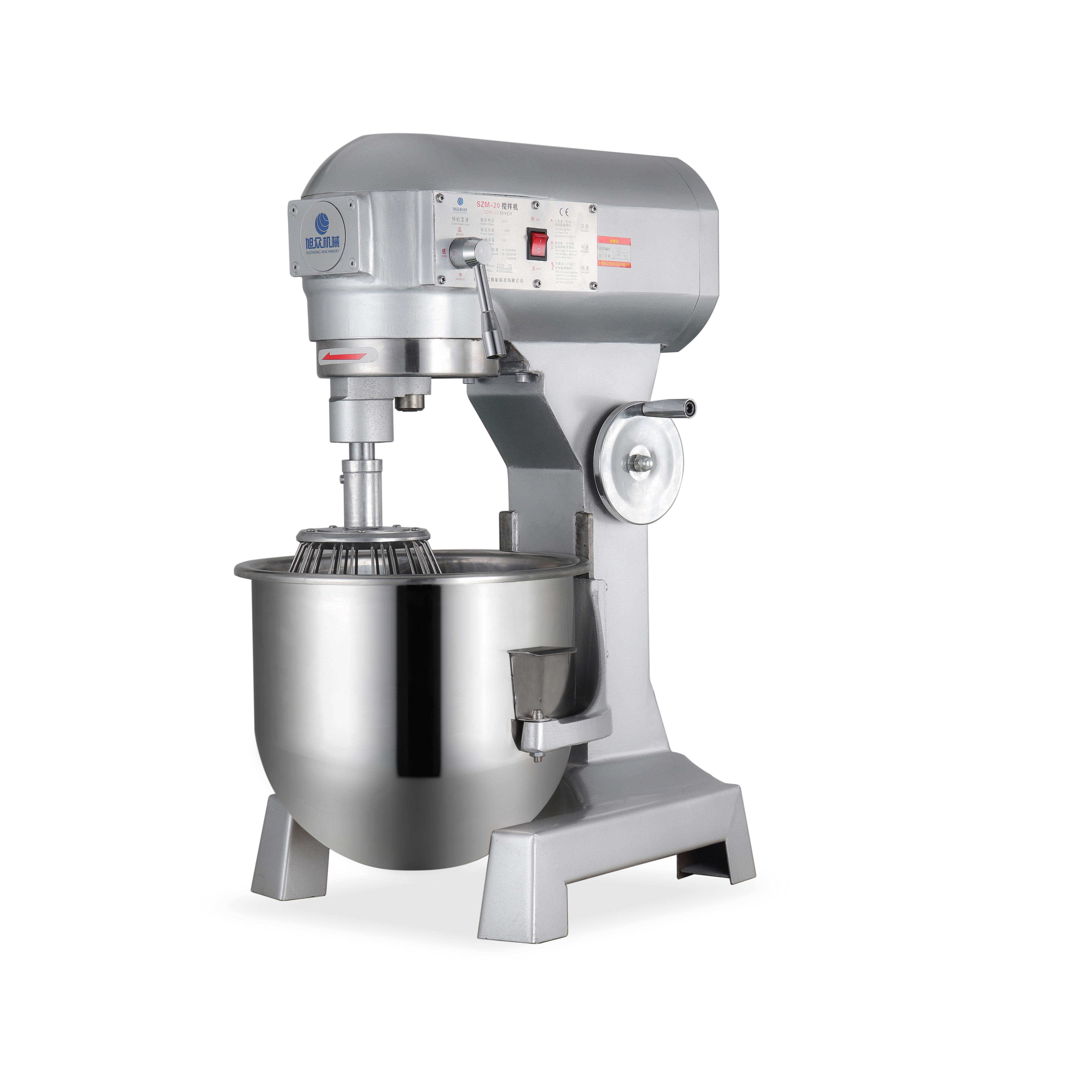 High Quality Powerful 20 Liters Bowl Volume Commercial Kitchen Cake Mixer food Planetary Mixer with good price