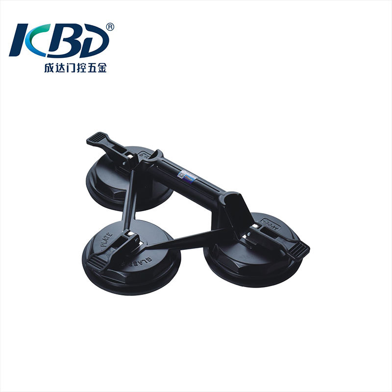 Glass Sucker Aluminum Suction Lifter 100kg Suction Cup Vacuum Lifter 120 mm max.80 2 pcs 100kg Glass Suction Lifter with Double Suction Cups Gray