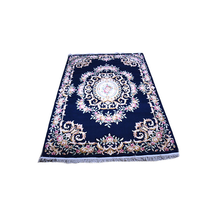 European Style Decorative Custom Design Hand Knotted Rug Wool Rugs And Floor Carpets For Living Room