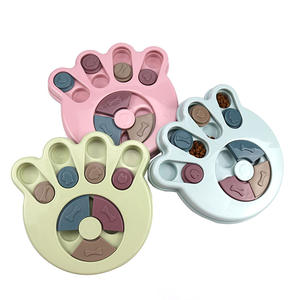 Wholesale Eco Friendly paw/round shape smart dog toys best design pet IQ training dog toys