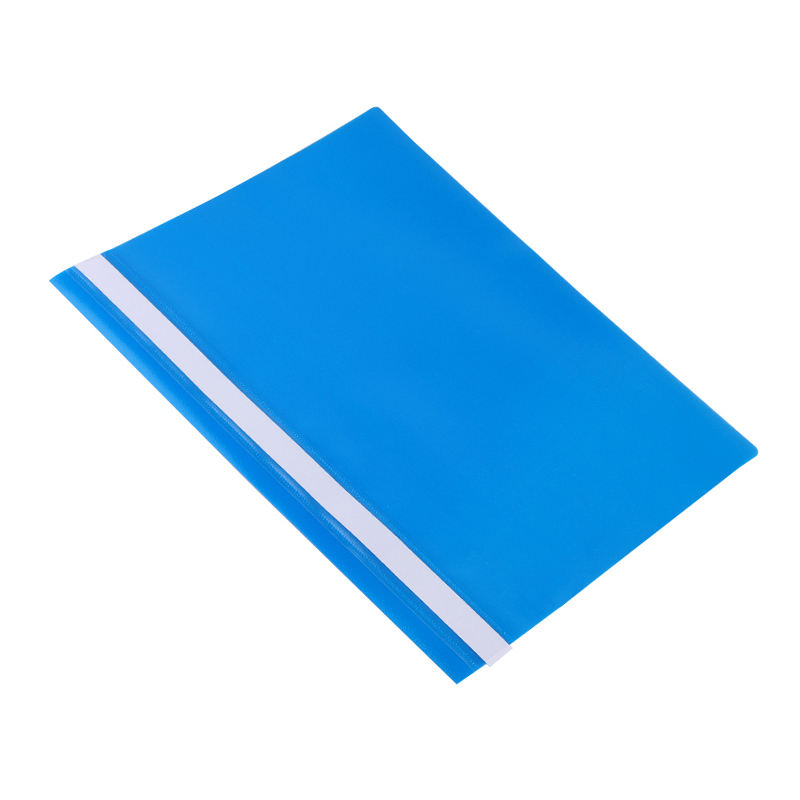 High quality custom colored PP a4 file folder plastic report file with fastener