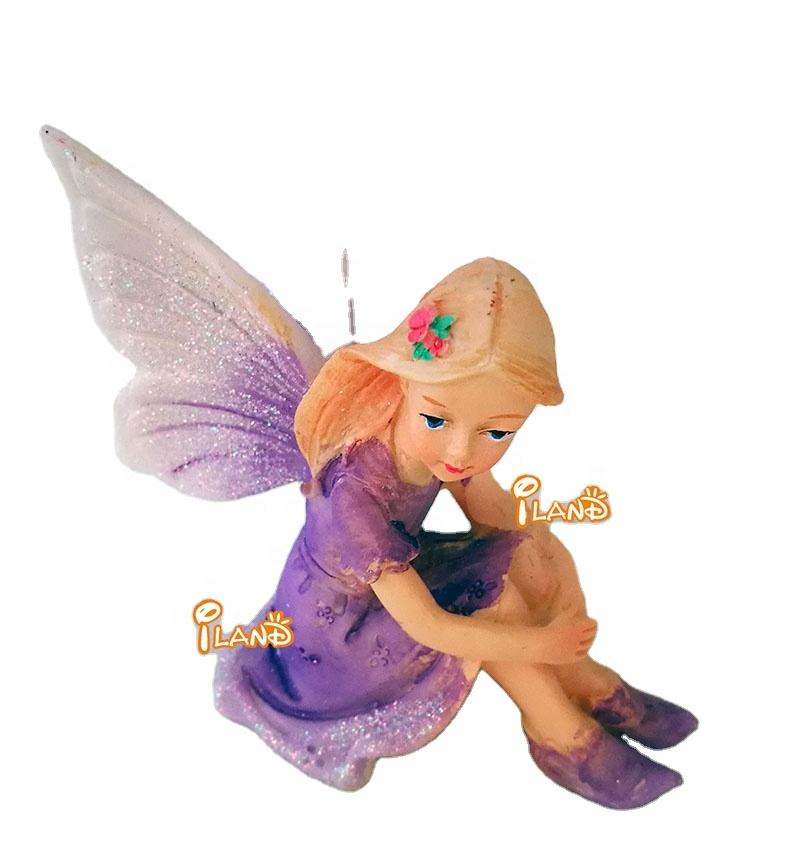 iland Miniature Dollhouse Resin Fairy 7cm