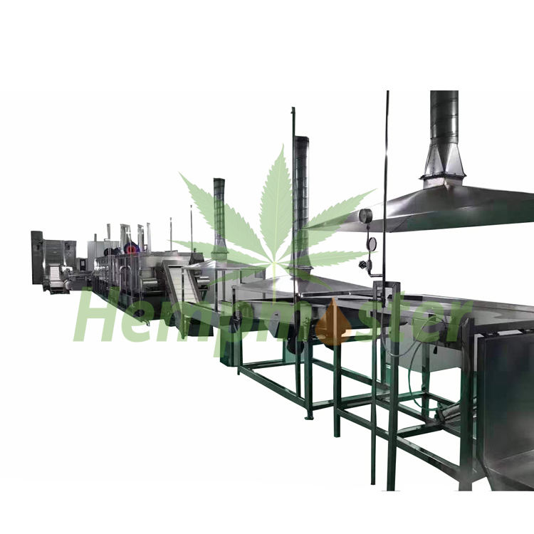 Complete hemp processing equipment for CBD Hemp Oil
