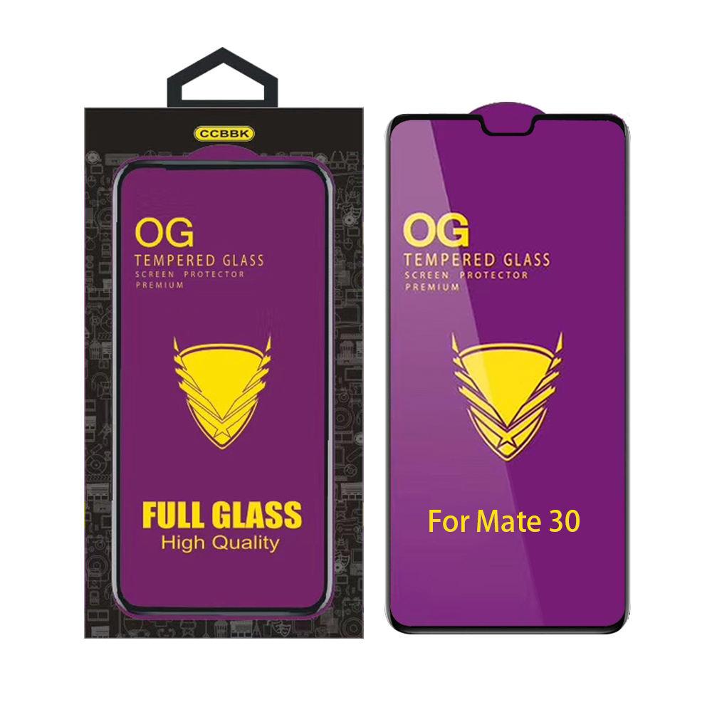 Black LGYD for 25 PCS Full Screen Full Glue Anti-Fingerprint Tempered Glass Film for iPhone X//XS Color : Black
