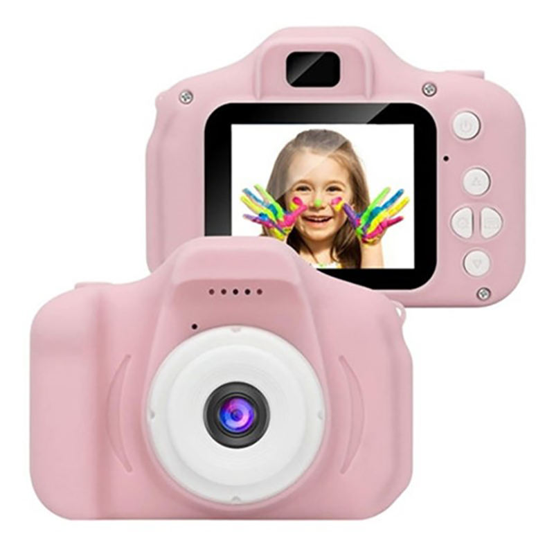 Dropshipping X2 Mini Kids Digital Video Camera Creative for kids gifts