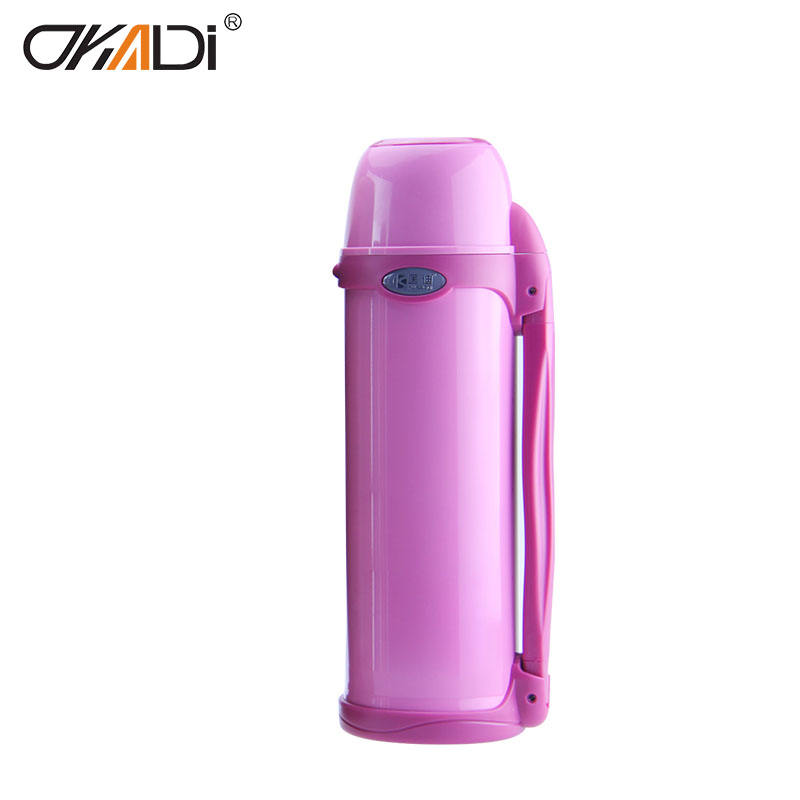 OKADI 1800ml Double Wall Stainless Steel Thermos Vacuum Flask Keep Water Hot and Cold for 24 Hours