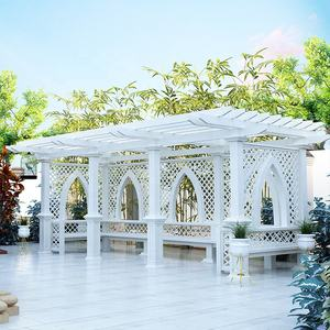 waterproof aluminium pergola 3x3 for garden prices