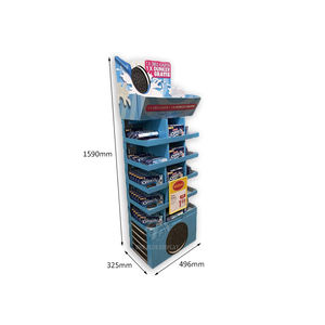 Custom Retail Winkel Aardappel Chips Display Rack Display Plank Voor Gelei Voedsel Display Stand