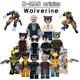 Hot Sale Super Heroes Marvel X-Men Logan James Howlett Movie Building Blocks Action Model Mini Figures Bricks Toys For Children