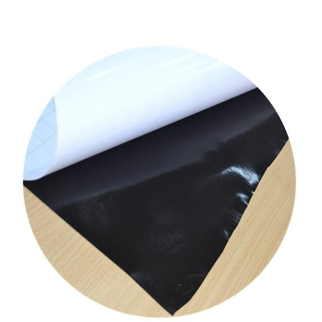 High quality self adhesive black glue vinyl printing self adhesive stiker outdoor advertising self adhesive film roll