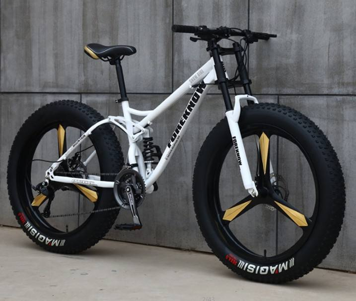 china 26inch Aluminum Alloy 4.0 fat bicycles mountain fat bike / five blade fatbike mountain bike Disc Brakes Snow Bike
