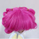 China For Wig China Factory Supplied Top Quality Hair For Dolls Purple Doll Wig