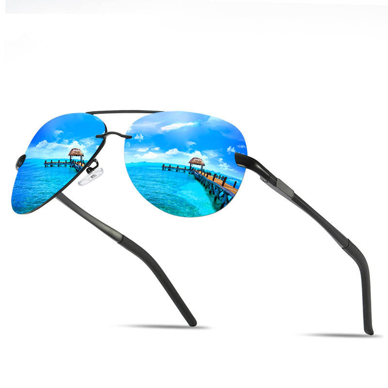 High Definition uv400 Polarized Men's Riding Sunglasses