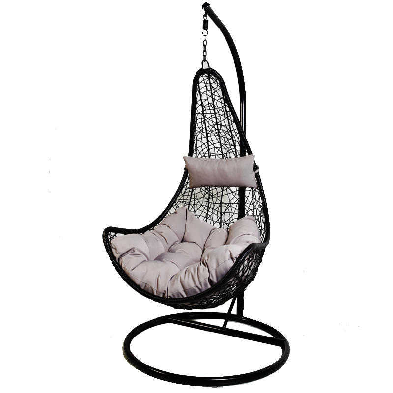 Patio Swings Rattan Single Hanging Chair Wicker Outdoor Furniture