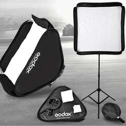 photo studio accessories godox 60*60cm Portable Foldable Softbox with S Type Bracket Holder for Studio Speedlight