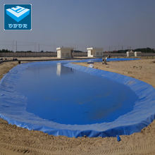 1.5mm blue pond liner HDPE Geomembrane