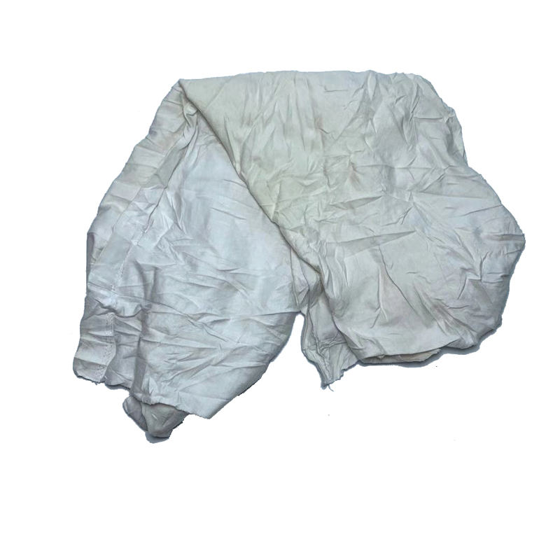 Factory Price Recycled White Import Rags & Cloths Cut Wiping Rag