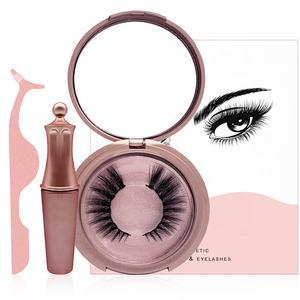 eyelashes wholesale 3D mink lashes magnetic eyelashes packaging