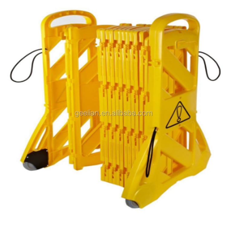 Traffic road portable expandable barricade/safety door barrier/parking barrier