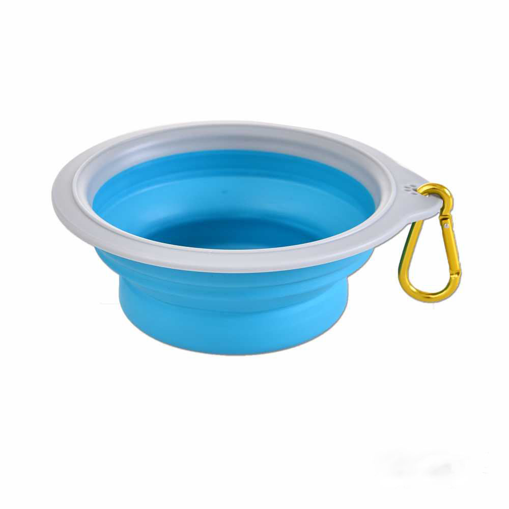 Factory Manufacturer Wholesale High Quality Silicone Pet Bowl folding Outdoor Travel Dog Folding Bowl