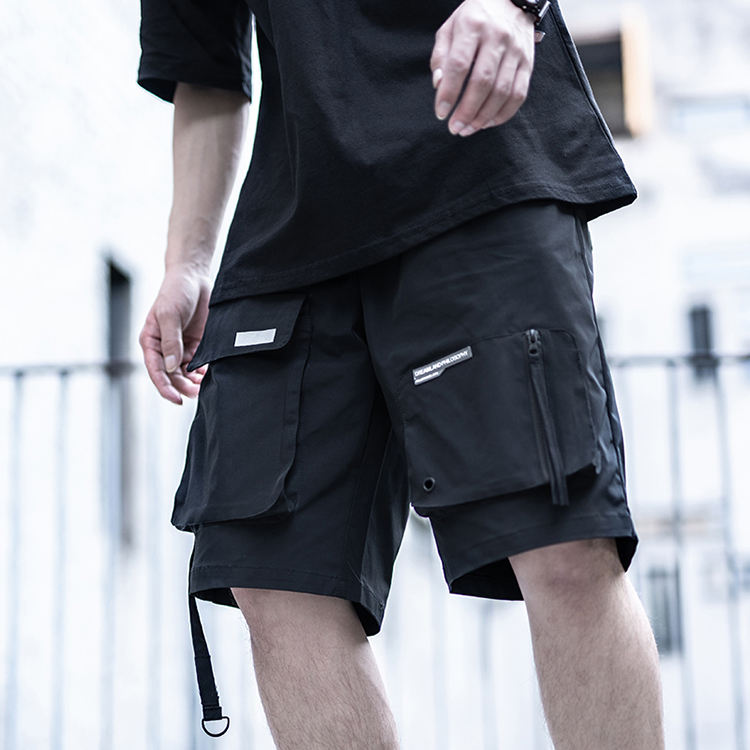 Drawstring Hip Hop Pants Breathable Military Summer Blank Sportswear Wholesale Track Cargo Gym Casual Sweat Shorts For Mens