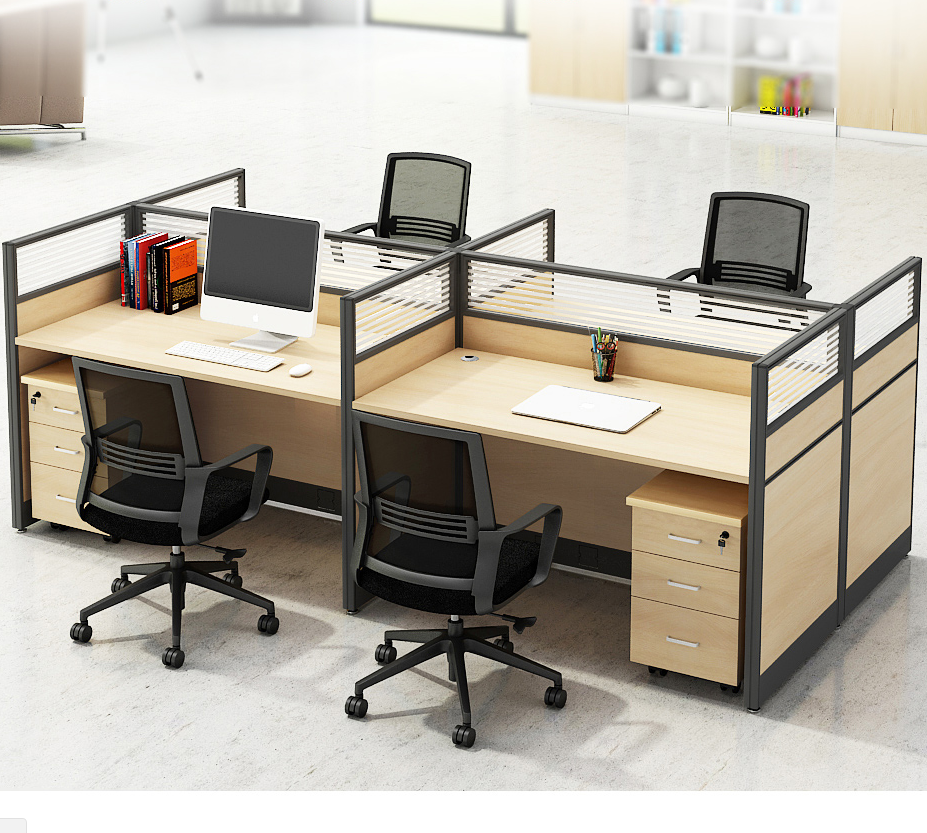 Low price european style modern appearance and general use multi furniture sets small corner home office desk for home office