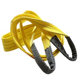 CE certification 1m polyester flat eye and eye lifting webbing sling high strength 3 ton web sling