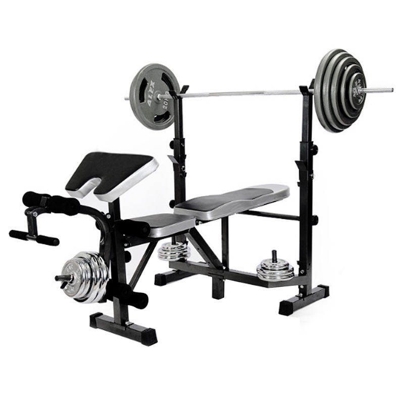 Adjustable Fitness Weight Lifting Multifunction Workout Gym Equipment Weight Bench