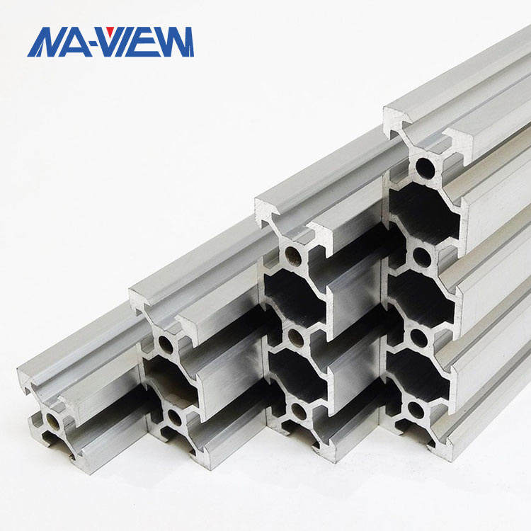 Manufacturers T Tee Track Channel Shaped Section Bars Aluminium T Slot Extrusion Linear Rails Profile Frame Framing Systems