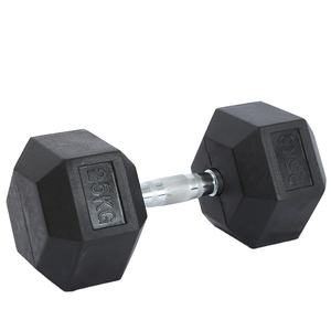 Wholesale Weight Lifting Fitness Equipments Home Mancuernas Cast Iron Hex Neoprene Rubber Coat Dumbbell For Sale Dumbbell Set