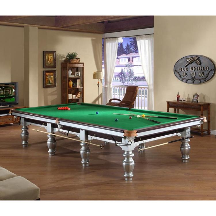 Factory Direct Supplier 12ft Standard Billiard Pool Table Snooker Table For Sale