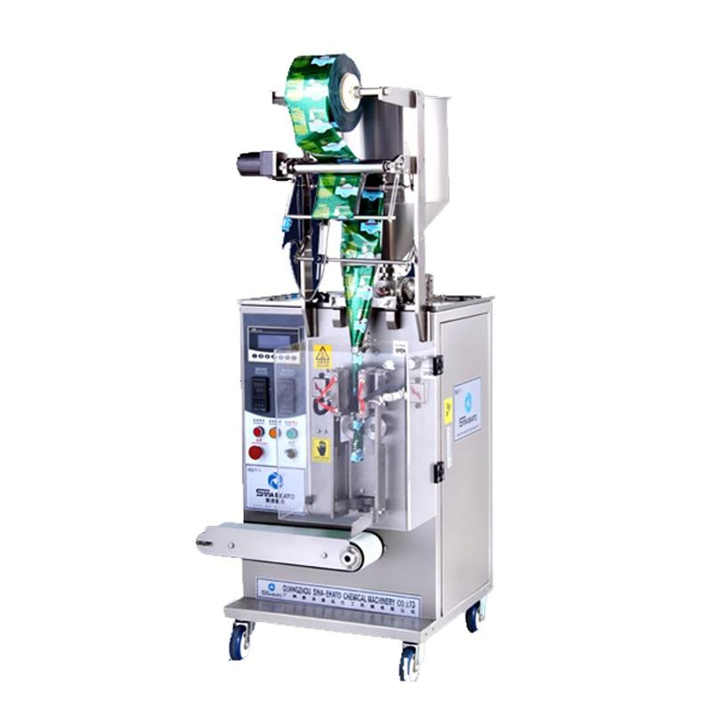 automatic paste pouch soap powder liquid mask vaccum packing machine