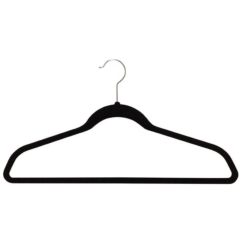 wholesale good quality velvet hanger