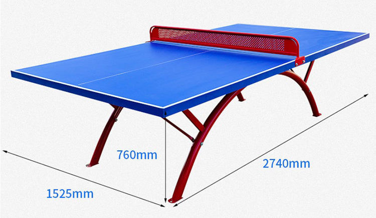 Table Tennis Training SMC Waterproof Outdoor Ping Pong Table Tennis Table Training