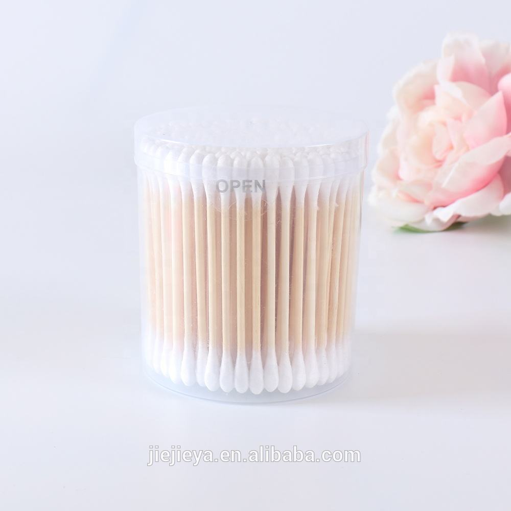 Factory Directly Provide Cheap Price Ear Cleaning Cotton Buds Bamboo Stick Q Tips